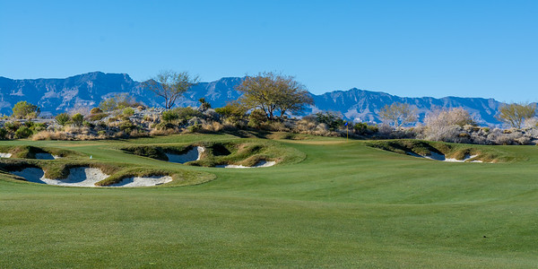 Bunkers at Coyote Springs Golf Club