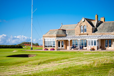 Royal Troon 18 Clubhouse