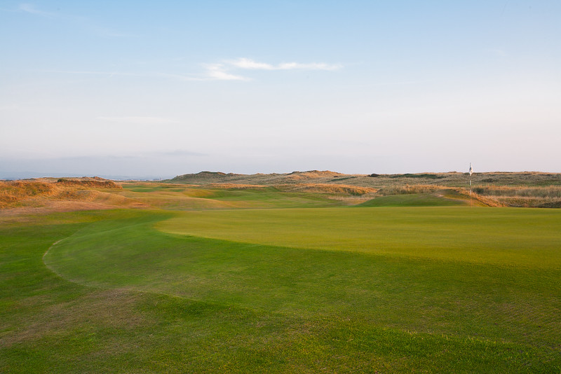 Evening light at Royal Troon Golf Club