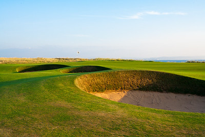 Royal Troon 5th bunkers