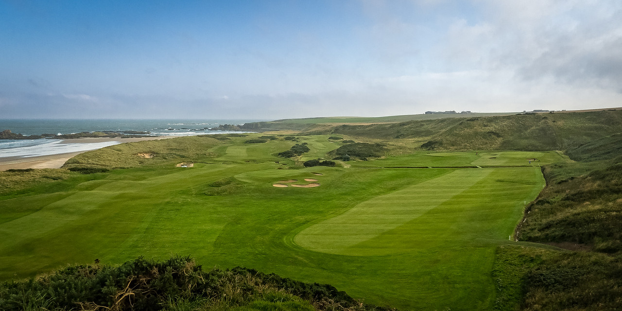 the 11th hole at Cruden Bay