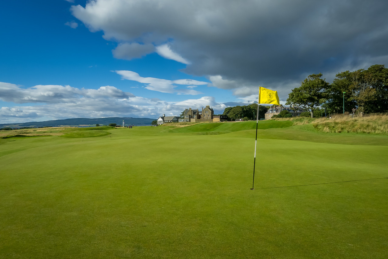 the first hole at Royal Dornoch