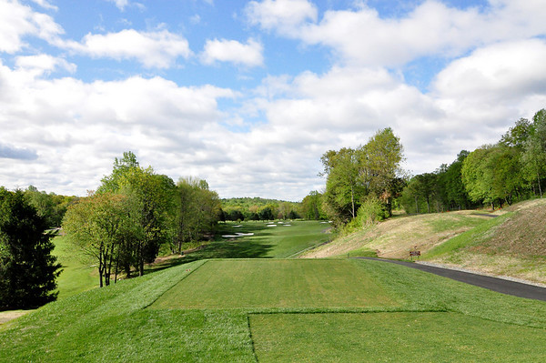 A SHOT FROM THE NEW TEE BOXES ON THE PAR 4 8TH HOLE.
