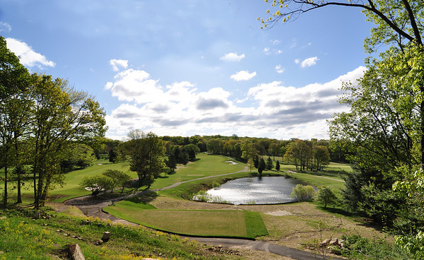 VIEW OF THE 2ND HOLE REDESIGNED SO THAT IT IS NOW A PAR 5 DOGLEG LEFT UPHILL.
