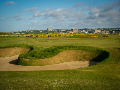 St. Andrews Old Course #14- Hell Bunker