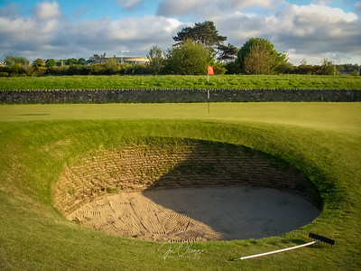 St. Andrews, Old Course #17 Road Hole Bunker