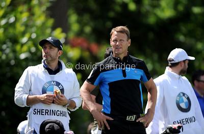BMW PGA Championship Celebrity Pro-Am, Wentworth Club, Virginia Water, Surrey, ENGLAND - 24 May 2017