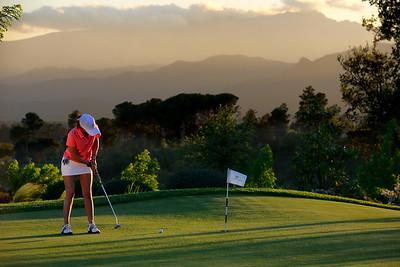 PGA Catalunya Practice putting