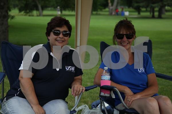 Sheri Steck, Brenda Trevis - USW
