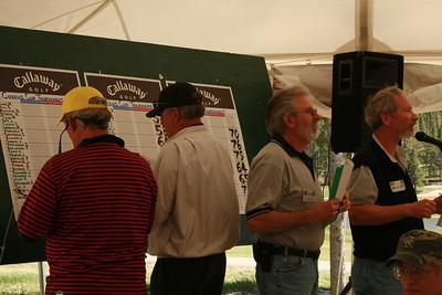 John Erwin, JT, Dennis Troutman and Jerry Nissen record tournament winners