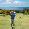 A look towards the ocean on Robert Trent Jones II Course at Four Seasons Resort on Nevis