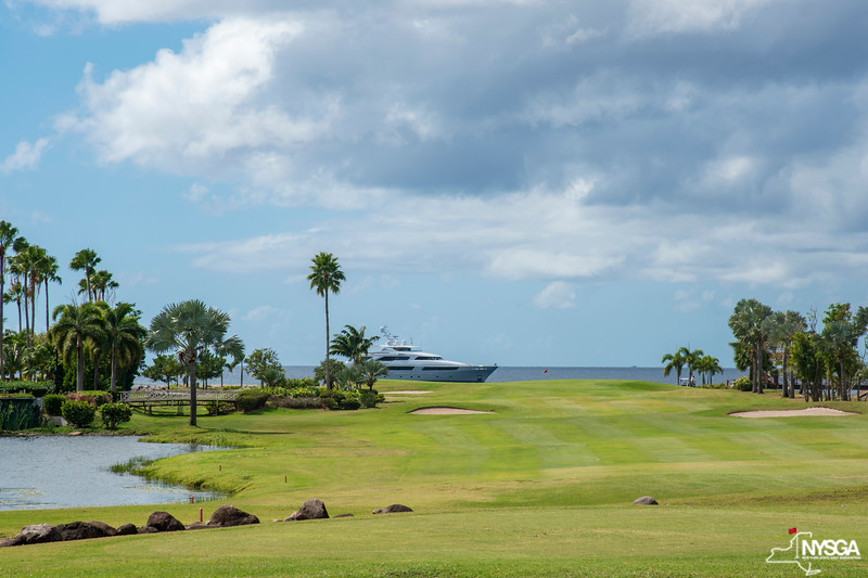 #18 at Robert Trent Jones II Course on Nevis