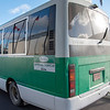 Shuttle buses ready to transport players across St. Kitts