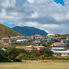 More views of hillside homes neighboring Royal St. Kitts Golf Club