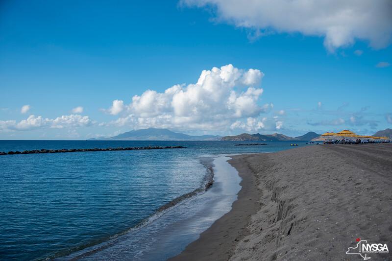 The beach at Four Seasons Resort on Nevis