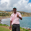 New friend from the island made during the 2019 St. Kitts & Nevis Admirals Cup. Photo taken on #17 green at Royal St. Kitts Golf Club