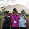 NYSGA members Sylvia, Janice and Andrea at the Admirals Cup!