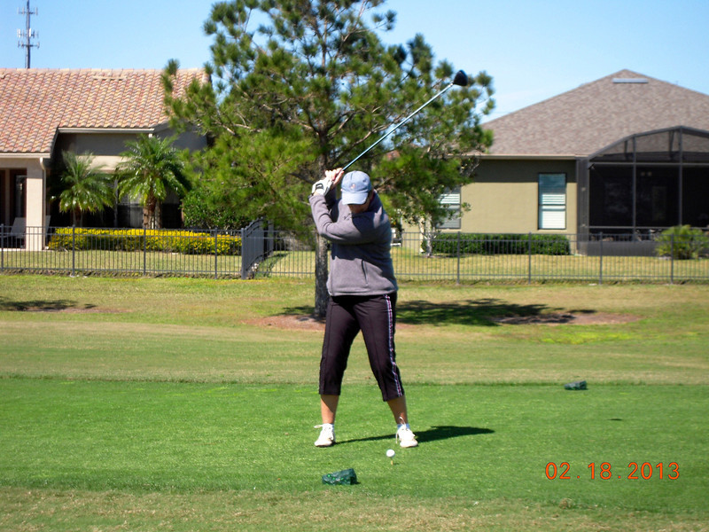 Liz Miller at Stonegate GC