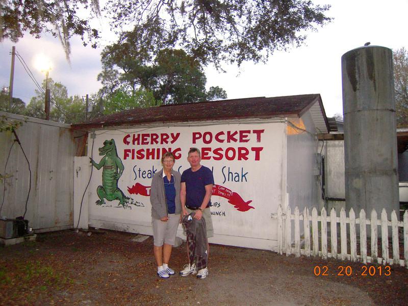 Cherry Pocket at Lake Wales, Fl<br /> Liz Miller<br /> Stan Mayer
