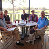 Lunch at Diamondback Golf Course, Haines City, Fl <br /> Lloyd Miller, Liz Miller, Stan Mayer, Louise Miller & Larry Miller