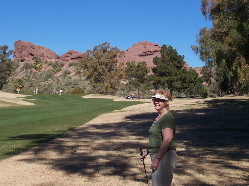 Louise at Papago Golf Course