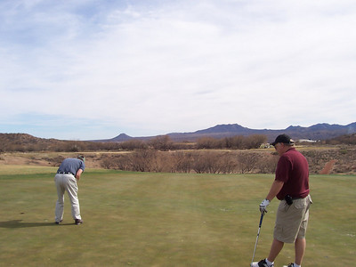 Stan Mayer & Don Miller at Gold Canyon Golf Resort