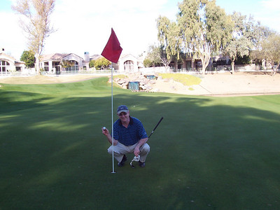 Yes! Lloyd's 1st Hole in One.  177 yards (I think).