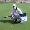 Very close to a hole-in-one at Club West