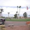 1st hole at Painted Mountain Golf Resort at Mesa AZ
