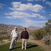 Lloyd Miller on Left and his brother Larry Miller on the right.  at Club West in Chandler AZ