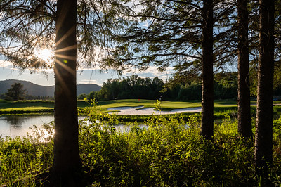 Mont-Tremblant, QC, Canada - July 3 2020:   Club De Golf Le Maitre Evening in Mont-Tremblant  Photo par:  Gary Yee