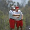Assistant Coach Jim Douglas, Keith Mitchell<br /> (Photo by Steven Colquitt)