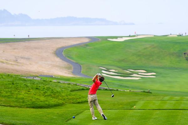 men's golf scene<br /> 2017 The Carmel Cup<br /> Pebble Beach, Calif.<br /> (Photo by John Weast)