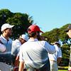 Georgia men's golf scene during the Ka'anapali Collegiate Classic in Lahaina, Hawaii, on Friday, Nov. 6, 2015. (Photo by Aric Becker)