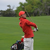 Georgia's Lee McCoy during the second round of the Southeastern Conference Championship at Sea Island Golf Club's Seaside Course in St. Simons Island, Ga., on Saturday, April 16, 2016. (Photo by Steven Colquitt)