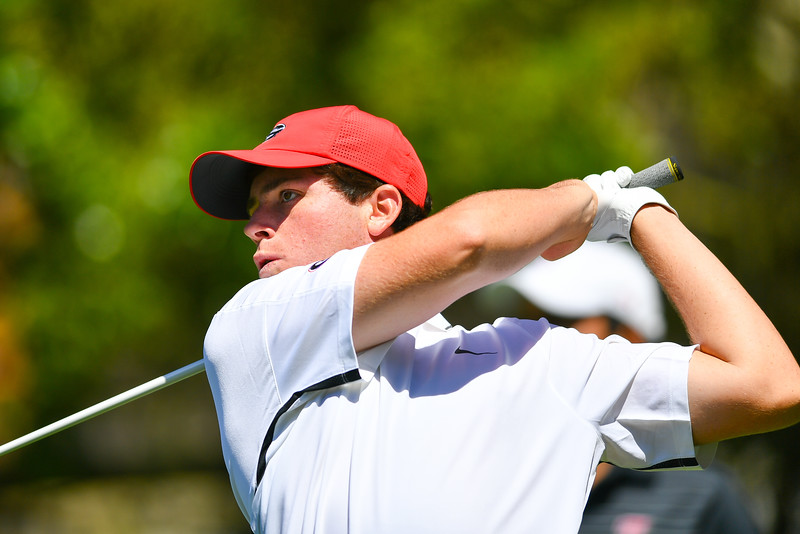 Spencer Ralston UGA Men's Golf Team (Photo by John Weast / Georgia Sports Communication)