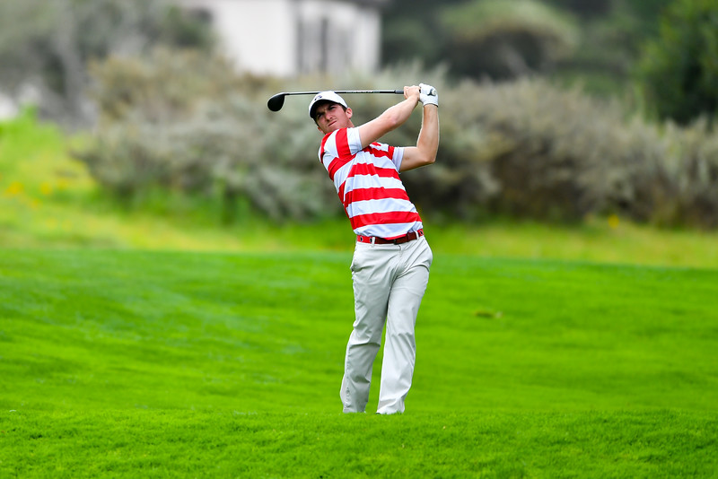 Zach Healy competes in the 2016 The Carmel Cup at Pebble Beach, California  - UGA Men's Golf Team -  (Photo by John Weast / Georgia Sports Communication)