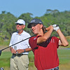 South Carolina during the first day of competition in the SEC Championship at Sea Island Golf Club on St. Simons Island, Ga., on Friday, April 21, 2017. (Photo by Steven Colquitt)