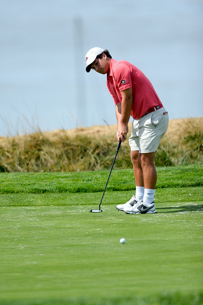 Greyson Sigg - Georgia men's golf team (photo from Georgia Sports Communications)