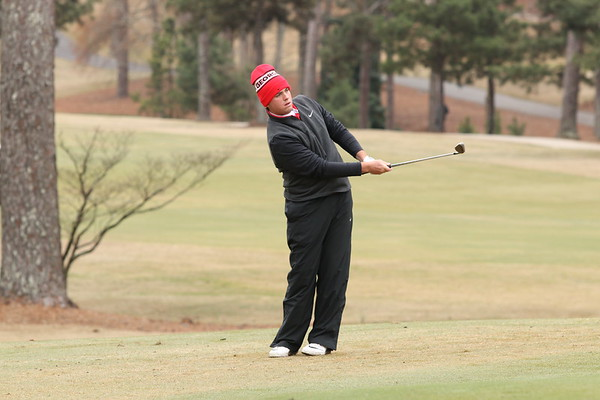 Georgia's Spencer Ralston during the Southern Intercollegiate Championships at Athens Country Club in Athens, Ga. on Monday, March 13, 2017. (Photo by Cory A. Cole)