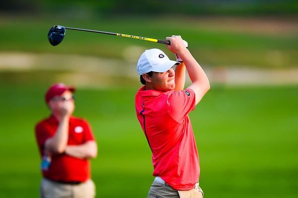 Trevor Phillips -  UGA Men's Golf Team -  (Photo by John Weast / Georgia Sports Communication)