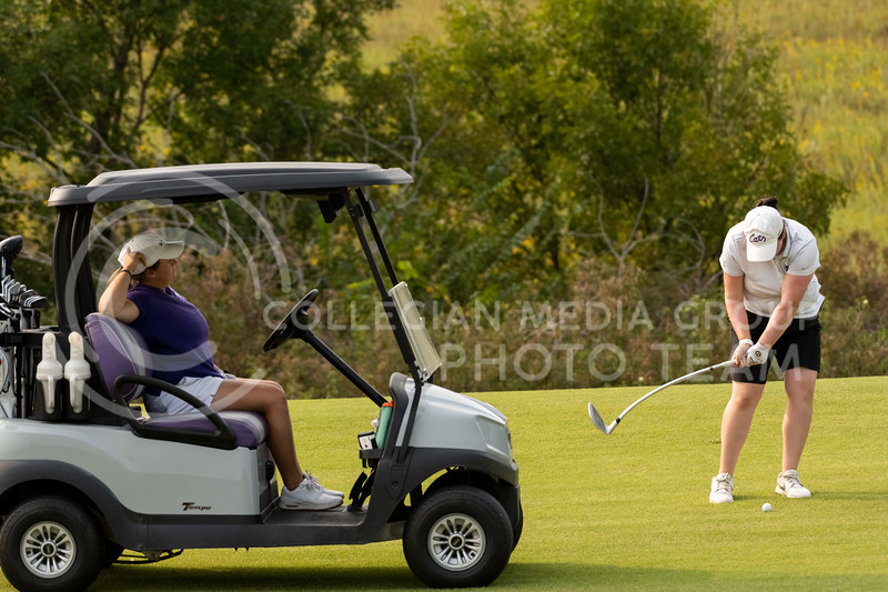 Kansas State Women's Golf team practices at Colbert Hills Golf Course on Thursday, September 17th, 2020. (Dylan Connell   Collegian Media Group)