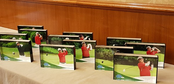 Golf product samples