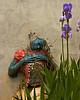 Feeling Blue<br /> Second Place winner, Artsbridge Member's Show 2009, Prallsville Mill, Stockton, NJ<br /> award winner in Ellarslie Museum, Trenton, NJ competition, 2010