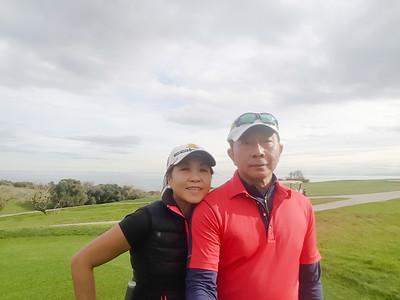 Alcaidesa Golf, Cadiz - Link course. Double ... selfie
