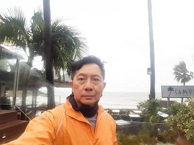 on the raining day, Laguna village