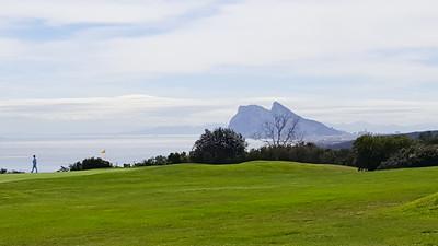 Alcaidesa Golf, Cadiz - Link course. Hole 4, green
