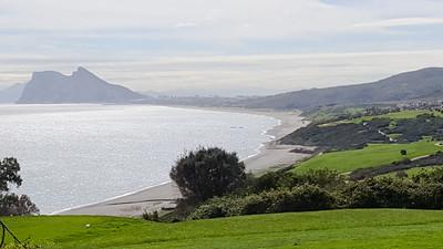 Alcaidesa Golf, Cadiz - Link course. Hole 5, tee