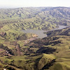 Photo taken 1-7-1982 with Del Valle Lake, Wente and the VA Hospital.