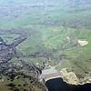 Photo taken 3-6-1981 of Del Valle Lake, Wente and VA Hospital
